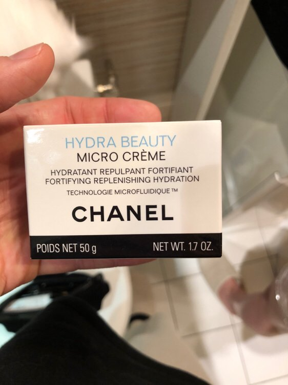 Chanel Hydra Beauty Micro Crème Hydratant Repulpant Fortifiant Inci Beauty