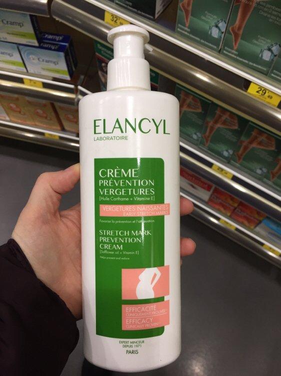 elancyl creme prevention vergetures