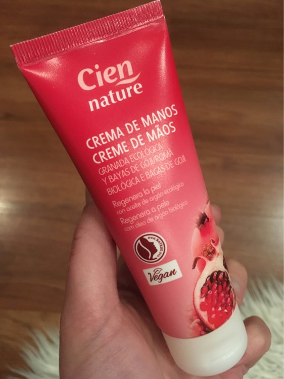 Cien Nature Hand cream - Organic pomegranate & goji..