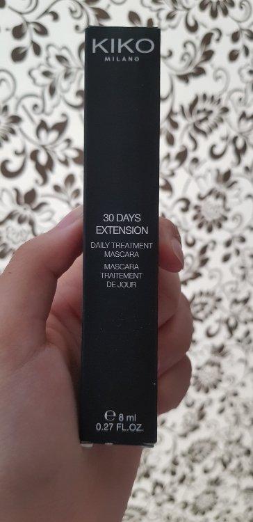 Kiko 30 Days Extension Daily Treatment Mascara - Mascara ...