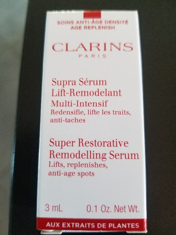 Clarins Supra Sérum Lift Remodelant Multi Intensif 3 Ml Inci Beauty