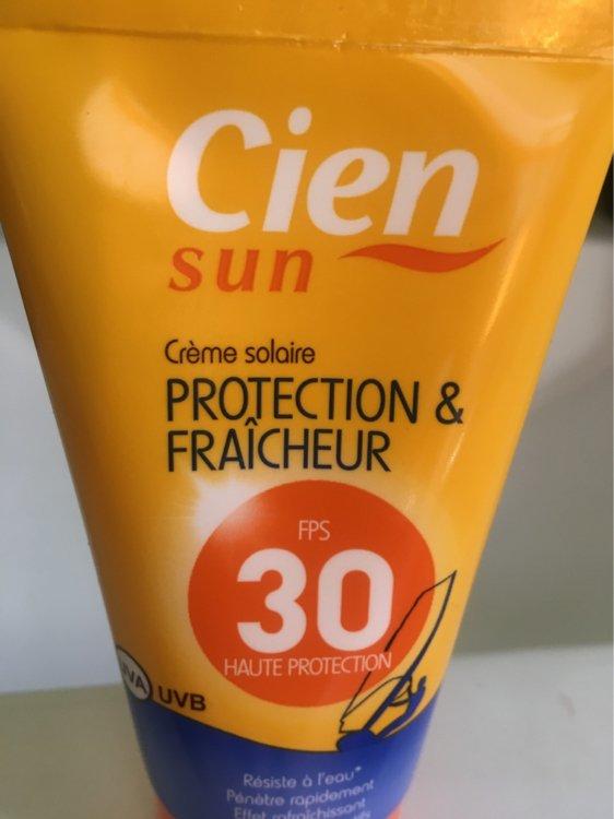 Cien Sun - Crème Solaire Protection & Fraîcheur - FPS 30..
