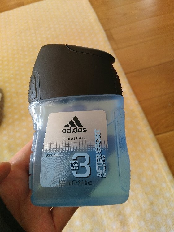 fragmento complemento poco claro  Adidas After sport hydrating - Shower gel - INCI Beauty