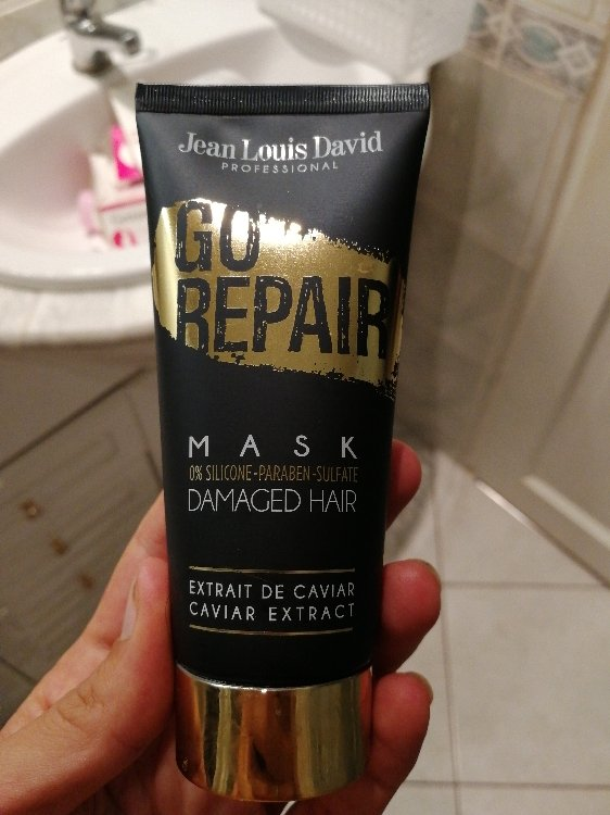 Jean Louis David Go Repair Mask Damage Hair Extrait De Caviar Inci Beauty