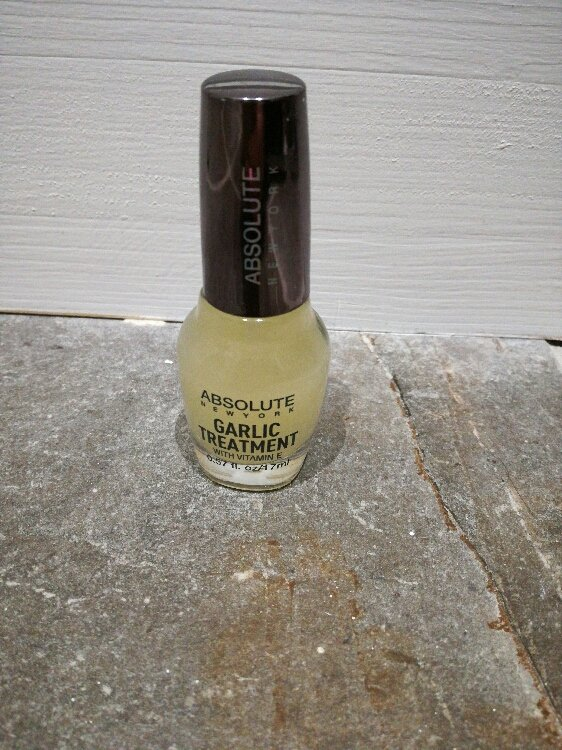 absolute new york garlic nail treatment