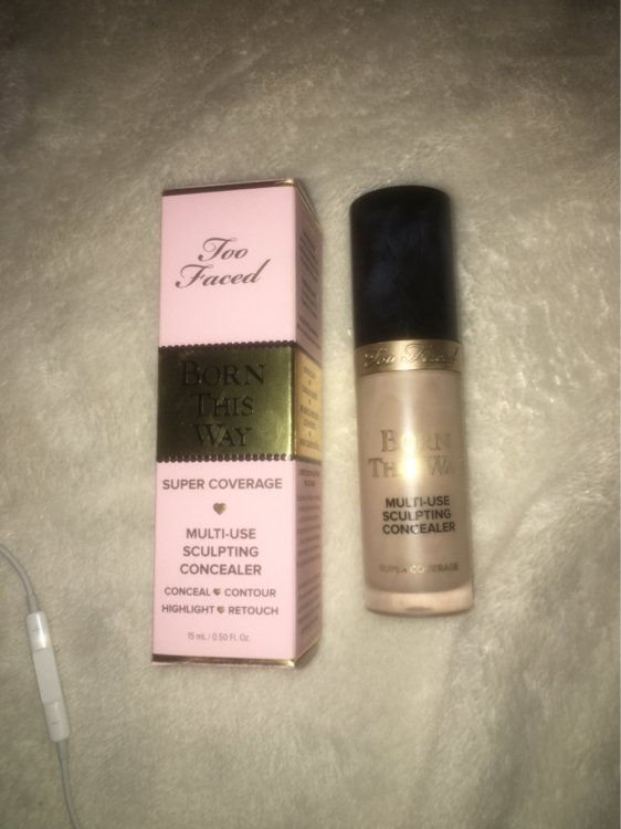 Too Faced Born This Way Super Coverage Concealer Correcteur Anti Cernes Marshmallow 15 Ml Inci Beauty