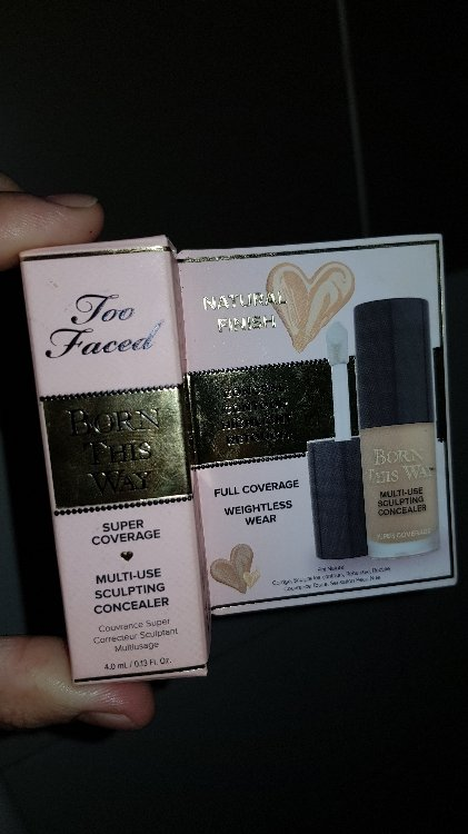 Too Faced Born This Way Super Coverage Concealer Anti Cernes Format Voyage Beige 4 Ml Inci Beauty