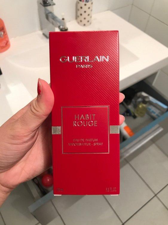 Guerlain Habit Rouge Eau De Parfum Pour Homme 100 Ml Inci Beauty
