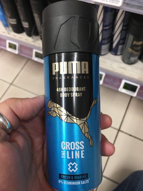 Puma Fragrances Cross the Line - Déodorant body spray 48h - INCI ...