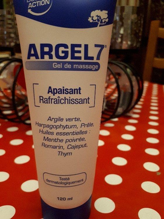 Argel 7 - Gel de massage INCI Beauty