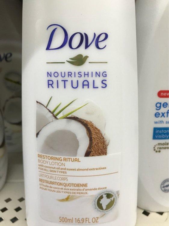 Dove Restoring Ritual Body Lotion 16 9 Fl Oz 500 Ml Inci Beauty