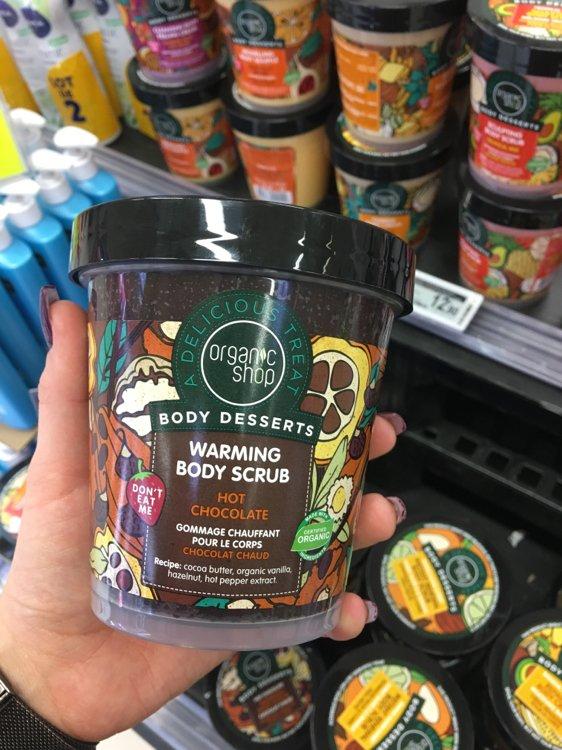 Organic Shop Body Desserts Warming Body Scrub Inci Beauty