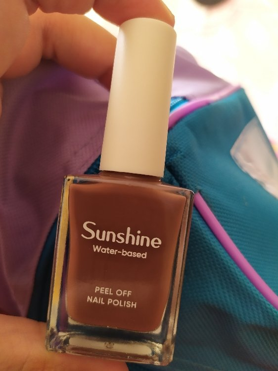 Miniso Sunshine Water Based Peel Off Nail Polish 14 Chocolate 10 Ml Inci Beauty