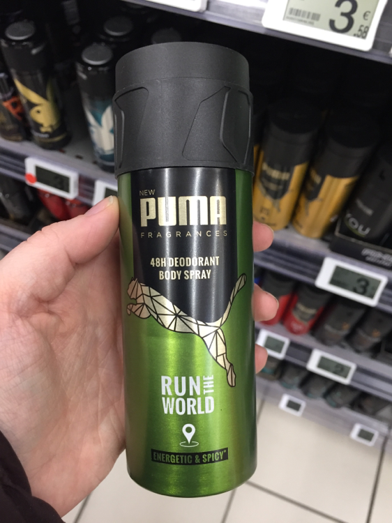 Puma Run the World - Déodorant homme 48h - INCI Beauty